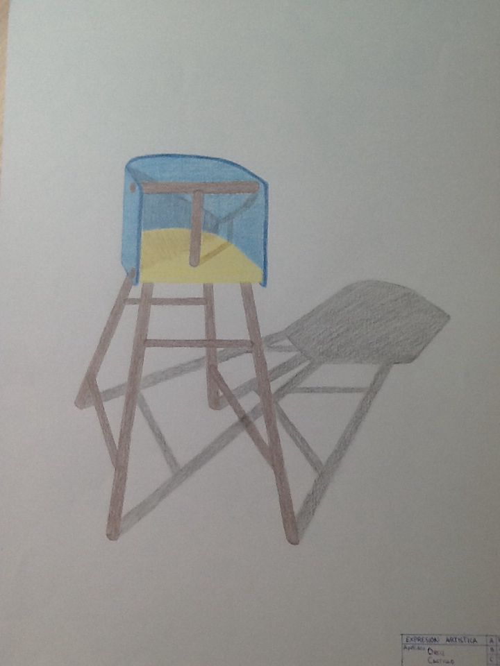 C nica silla lapiz representaci n de la forma pinterest - Sillas la forma ...