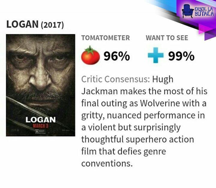 Ouch!! Dedo en la llaga! Mientras tanto en #Venezuela seguimos a espera del estreno... #QueremosLoganEnVenezuela  @20thCenturyFoxla #Logan #Wolverine3 #Xmen