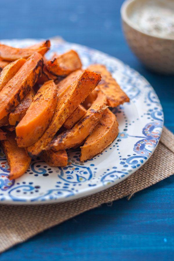 Frites-patates-douces-four