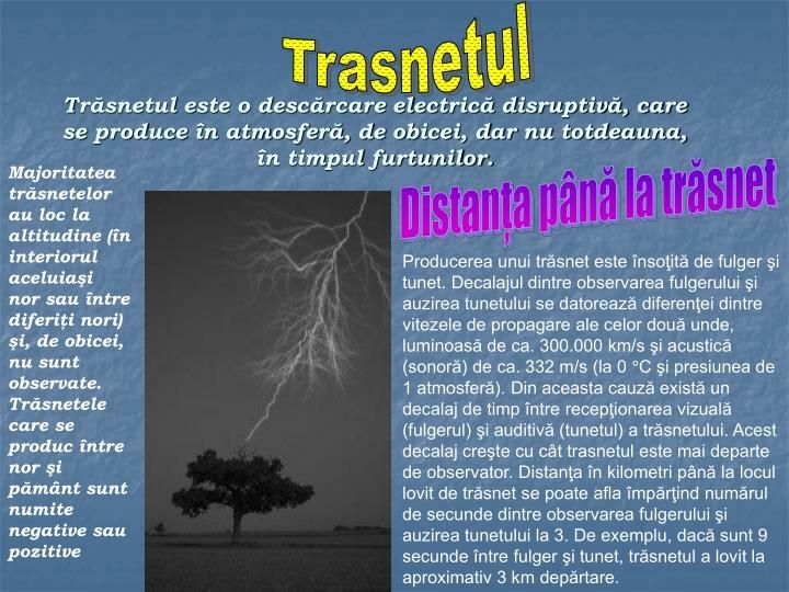 PPT - Fenomene optice si electrice in natura PowerPoint Presentation