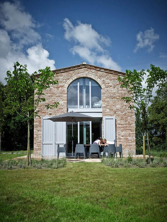 Traditional from the outside and modern and industrial from the inside by Special Umbria - CAANdesign | Architecture and home design blog