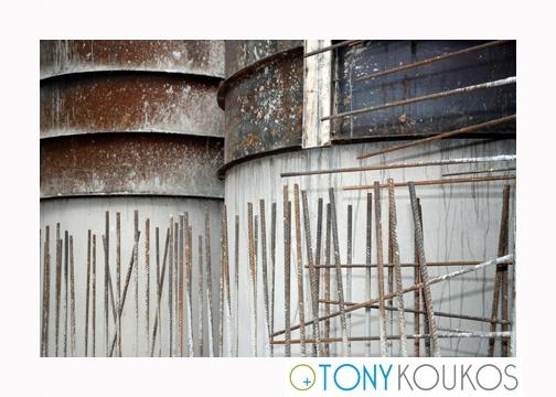 steel, rebar, rust, rods, round, oxidization, shadows