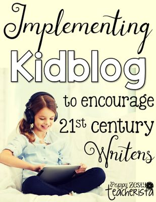 Elementary teacher looking for an engaging writing lessons and ideas that also integrates technology in the classroom and parent communication? Check out Kidblog! Lot of great ideas!
