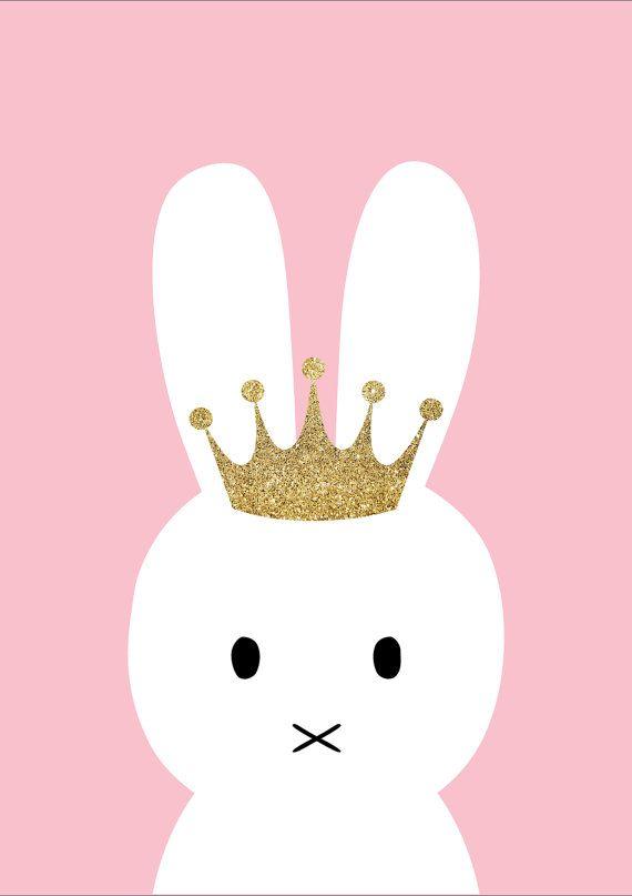 Impresión de Princesa Bunny Wallpaper... By Artist Unknown...