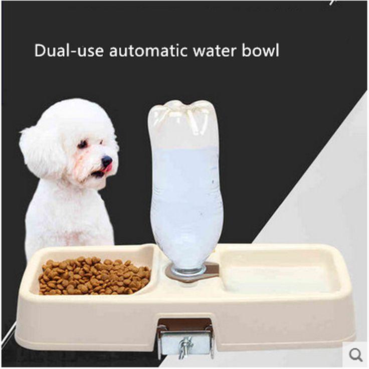 Dog Bowl Automatic Feeders Waterers Bebedores Para Cachorro Pet Dog Slow Eating Feeder Bowl Stainless Steel Dog Feeding EEMZ98