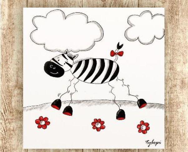 Červeno-černo-bílá pro maličké omalovánky pro starší