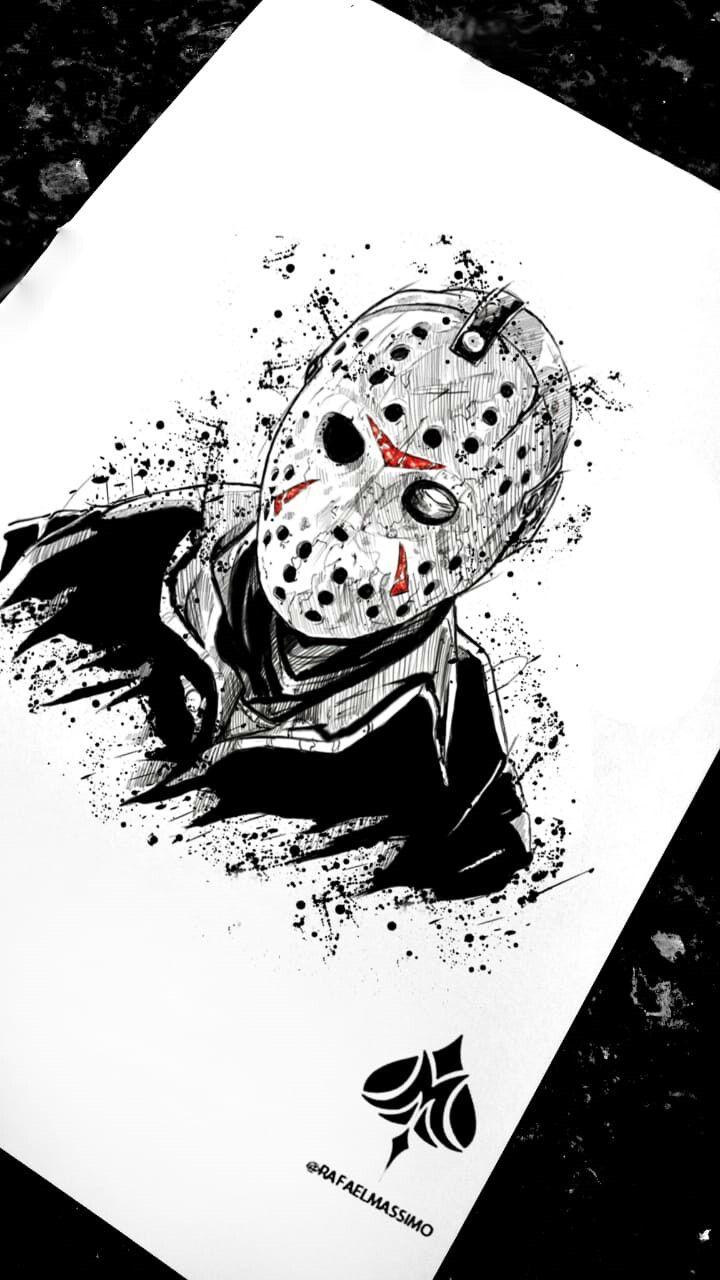 Jason By Rafaelmassimo Jason Sketch Sketchwork Tatuagens