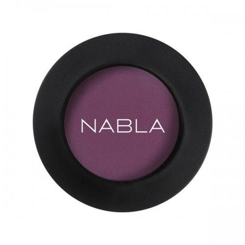 Prachtige losse (hoog gepigmenteerde) oogschaduw van Nabla Cosmetics! Kleur MIMESIS;Deep red / purple - soft matte Zowel nat als droog aan te brengen! Crueltyfree & Vegan Makeup, zonder parabenenen siliconen etc. Inhoud: 2,5g