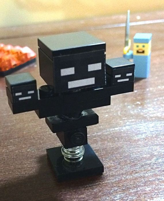 Minecraft Inspired Lego Custom Wither Diamond Armor by 3direction
