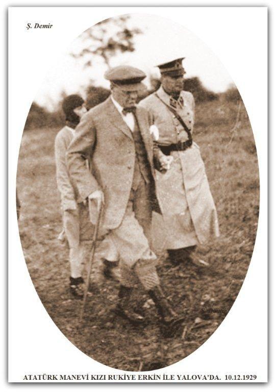 Atatürk Yalova'da. 10.12.1929
