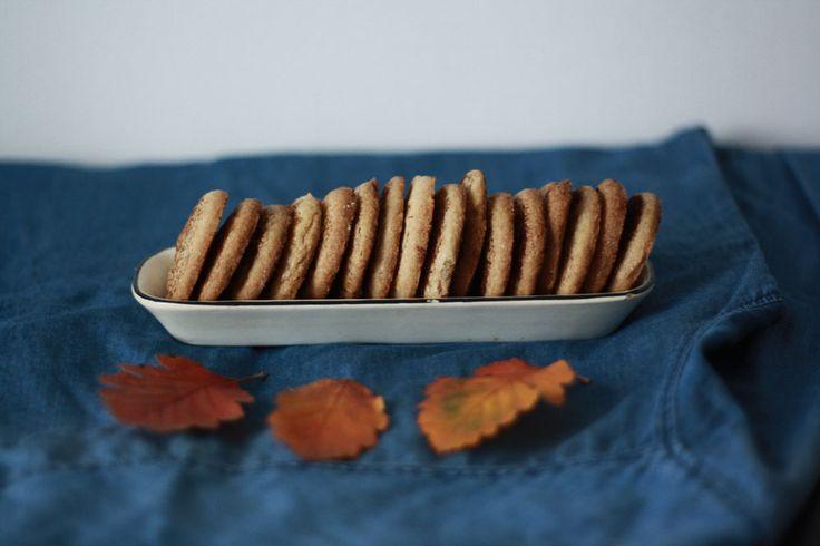 Kanelkakor - skořicové sušenky