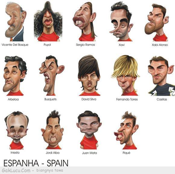 Lelucon berjudul Tim EURO 2012 yang lucu yang dibuat oleh Halimah Imah Shalaladumdum di www.GakLucu.com. Temukan juga lelucon lain yang mirip.
