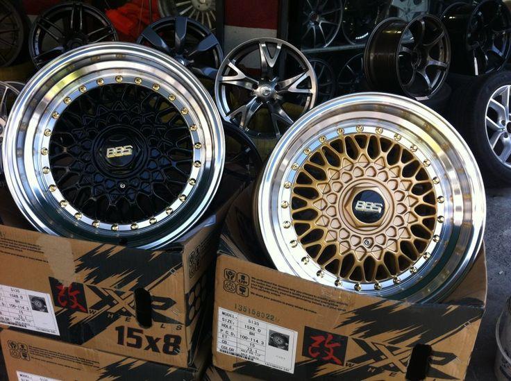 Bbs Rims Black Amp Gold Style Dream Car Parts