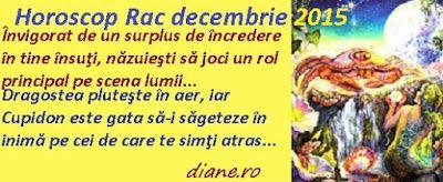 diane.ro: Horoscop Rac decembrie 2015