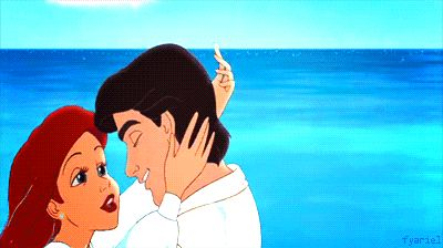 A kiss on the beach? | 32 Disney Kisses To Warm Your Heart On Valentines Day