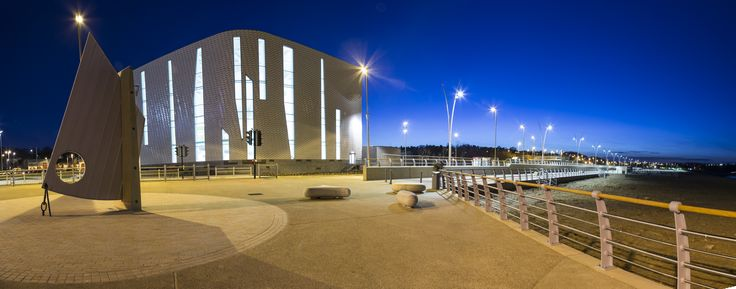 Haven Point image at night by John Short.