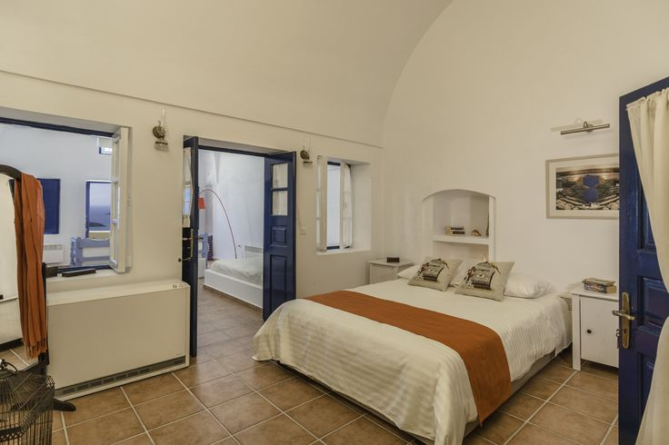 An original captain's house located in Firostefani, near the Capital of Santorini (Fira), overlooking the famous Volcano and the Aegean ...