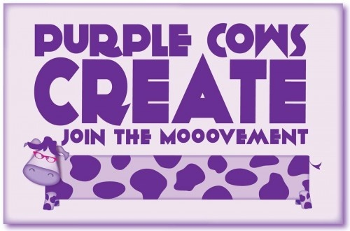Purple Cows Create  #jointhemooovement