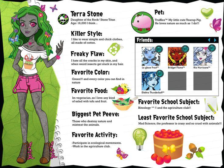 114 best Monster High Oc's images on Pinterest