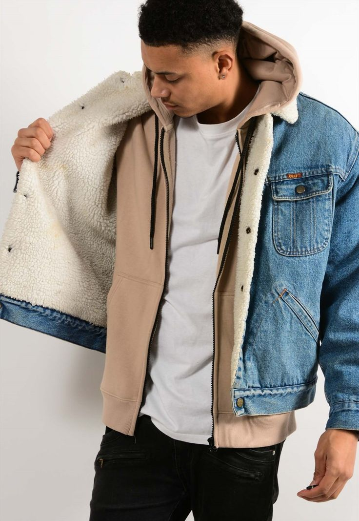 Vintage Sherpa Denim Jacket | Best Days Vintage