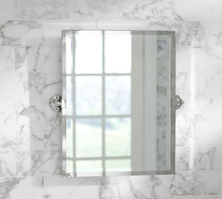 Photo On Kensington Pivot Rectangular Mirror Bathroom