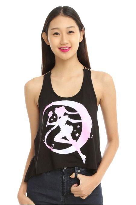 New official Sailor Moon tank top! More info and shopping links here.