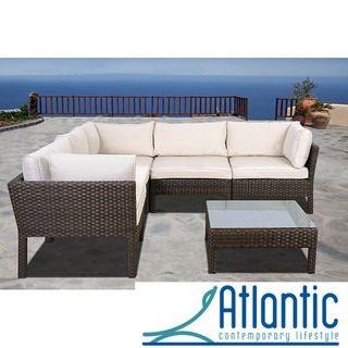 @Overstock.com   Majorca 6 Piece Wicker Sectional   This Wicker Sectional  That