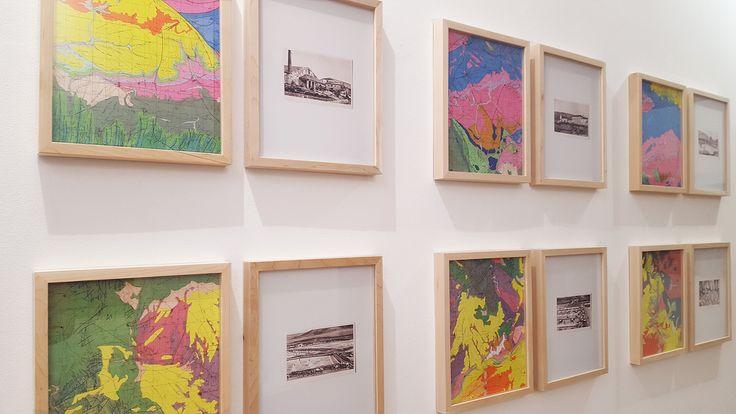 """Alberto Franco DÍaz en """"El mapa y el territorio"""" #Exposición #CámaraOscura #Madrid #Arte #ArteContemporáneo #ContemporaryArt #Arterecord 2017 https://twitter.com/arterecord"""