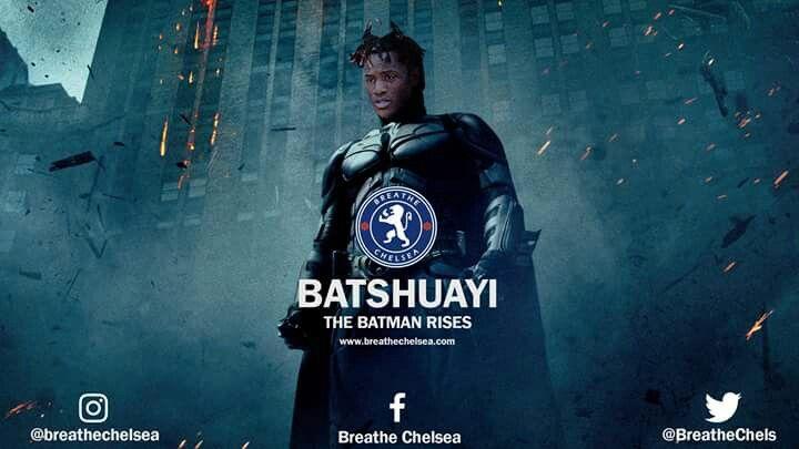 BATMAN RISES! Michy Batshuayi  Breathe Chelsea | #breathechelsea | breathechelsea.com
