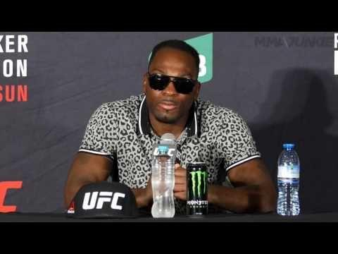 MMA UFC Fight Night 101's Derek Brunson on loss to Robert Whittaker: 'It really sucks'