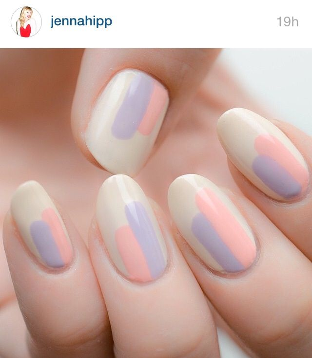 38 Pastel Nails Designs that are Creatively Stylish 2017