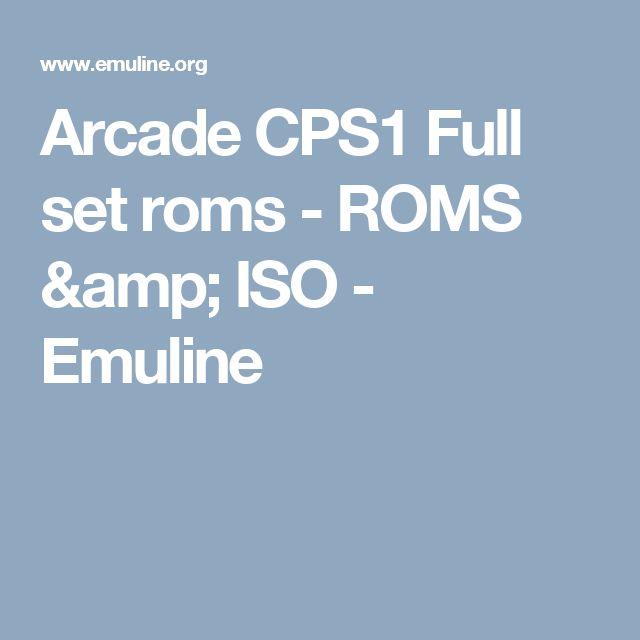 cps1 rom set