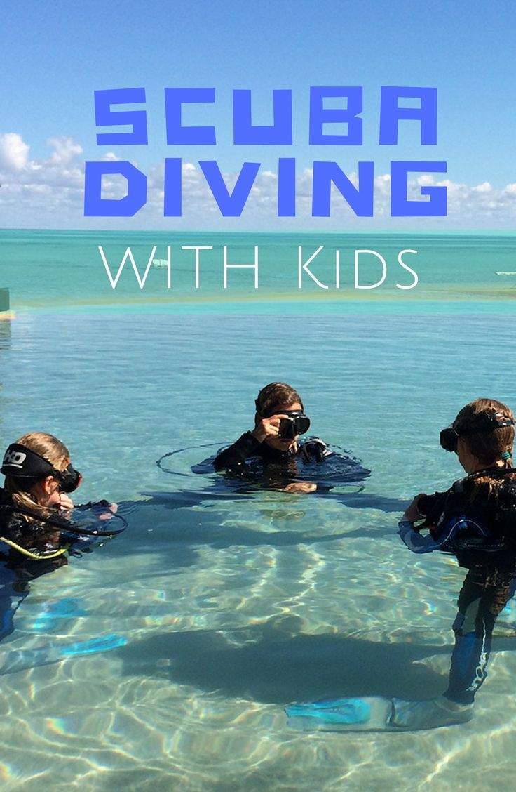 Scuba Diving For Kids | reefdivers.io