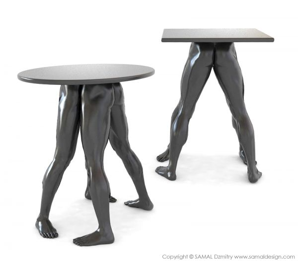 unusual furniture. haha gotta admit itu0027s a little creepy human furniture collection by dzmitry samal unusual