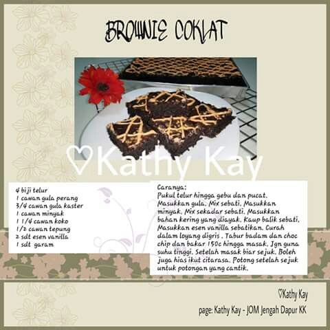 Brownie coklat