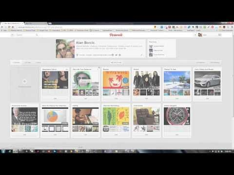 How to pin directly from web sites - YouTube www.buckscreator.com