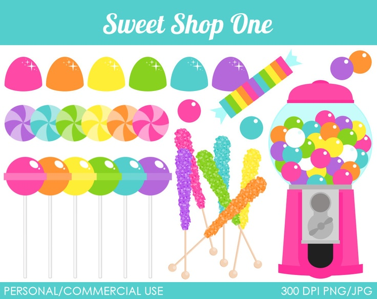 17 Best images about Sweets Themes on Pinterest | Sweets clipart ...