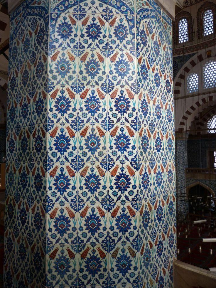 Rüstem Paşa Camii – Balcony West Gallery – Yukarı Batı Galerisi – Hatayi Motif.