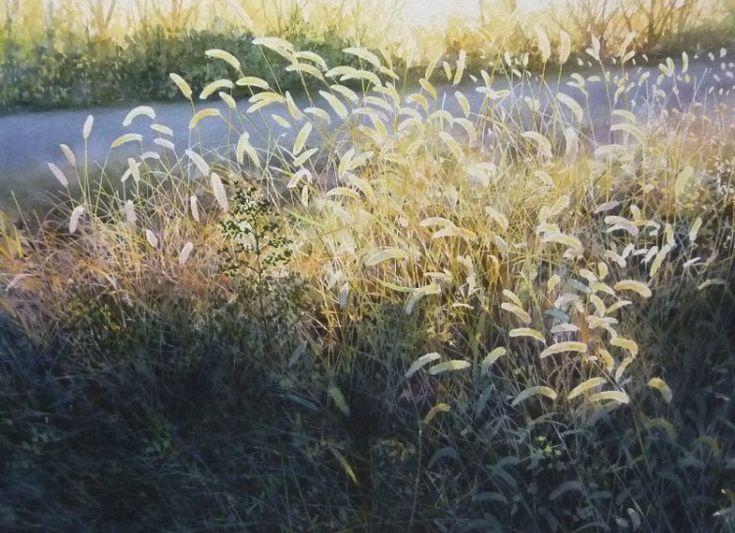 Солнечная живопись Абе Тошиюки