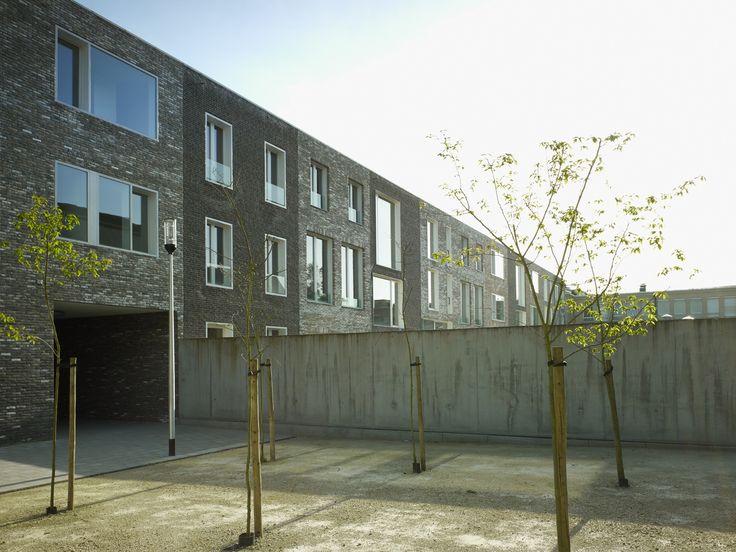 ectv - projecten: Rijwoningen Ramen Gent