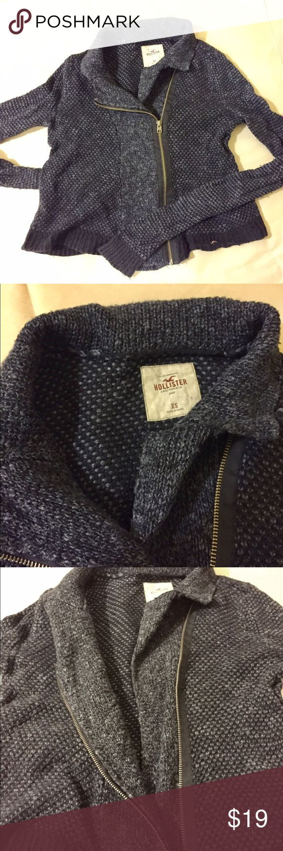 Hollister XS sweater coat Hollister sweater coat, size XS Hollister Sweaters