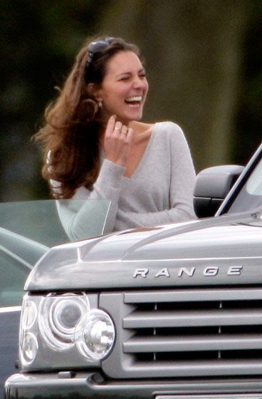 Catherine, Duchess of Cambridge, related to her through the Leigh family, the Gasciogne family and de Burgh family.
