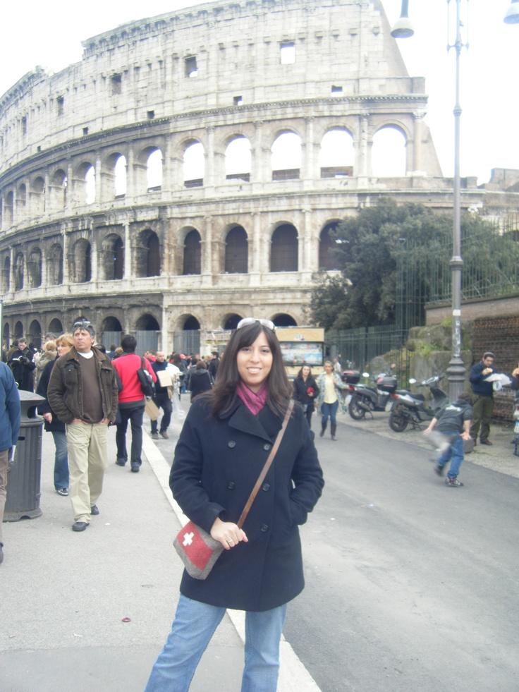 The Colosseum!