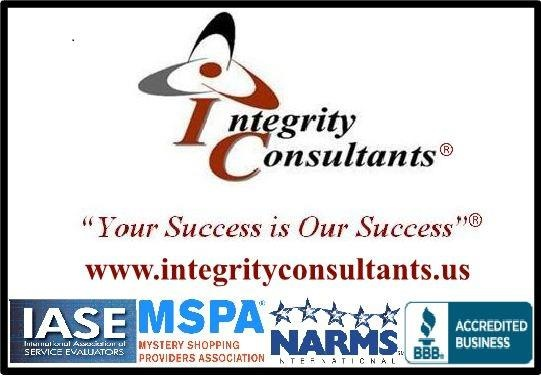 Integrity Consultants offers mystery shopping, video shopping and a variety of competitive intelligence services throughout the U.S. & Canada. Click on the image to learn more about a custom program for your business or to become a shopper. Member of the Mystery Shopping Providers Association (MSPA) and accredited by the Better Business Bureau (BBB) with an A+ Rating. @IC_Mysteryshop #mysteryshop #mysteryshopper #mysteryshopping #secretshop #MRX #BI #custserv #custexp #ICMysteryShop