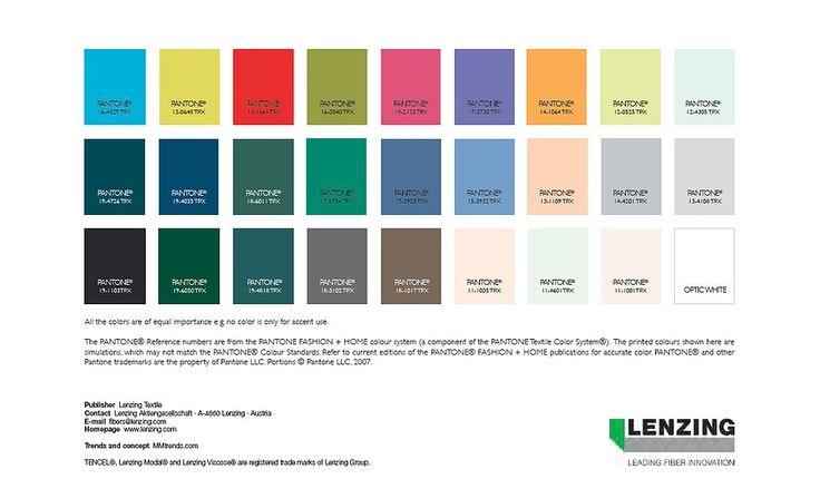 Lenzing - Textile Fibers - Trends Spring - Summer 2016