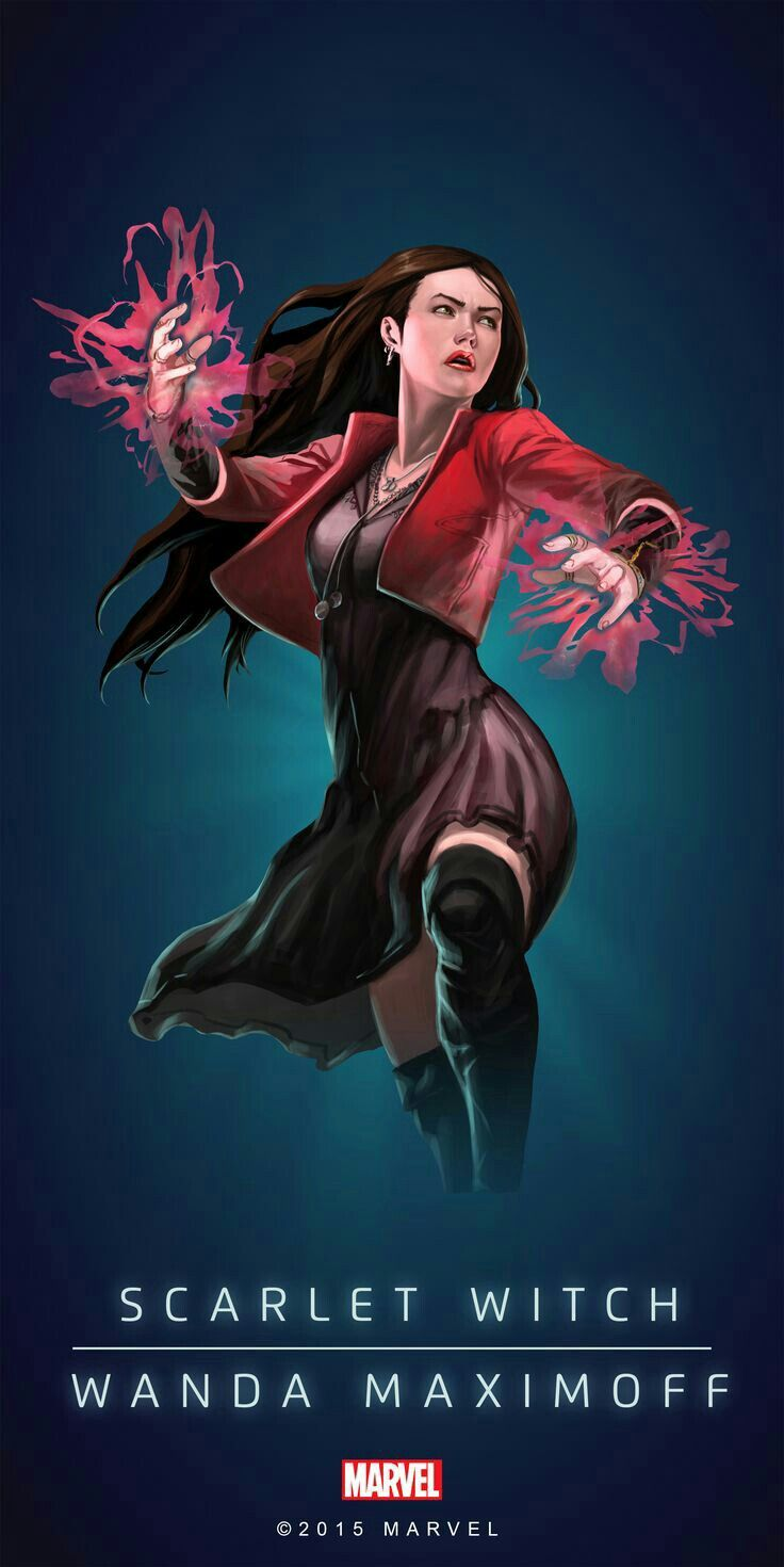Scarlet Witch Wanda Maximoff