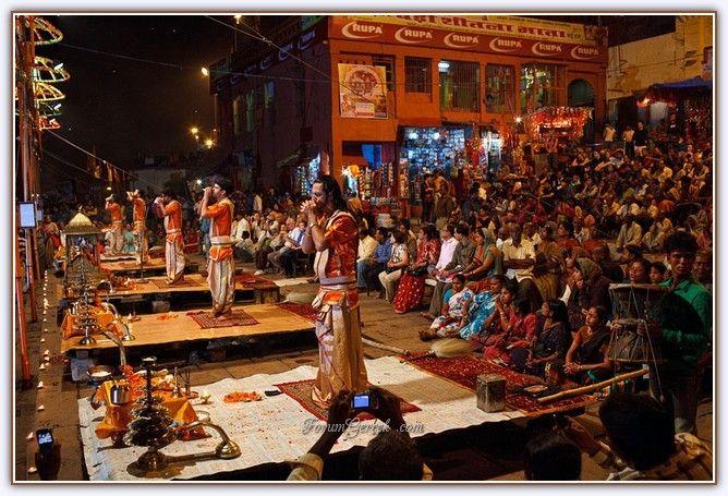 Aarti Törenleri - Varanasi (Benares) | Hindistan - Forum Gerçek