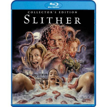 Slither Collector S Edition Blu Ray Walmart Com Horror Movie Posters Horror Fans Horror Movie Art