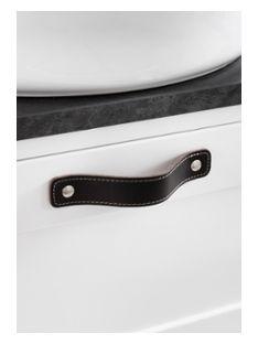 Läderhandtag Hafa Eden Brun