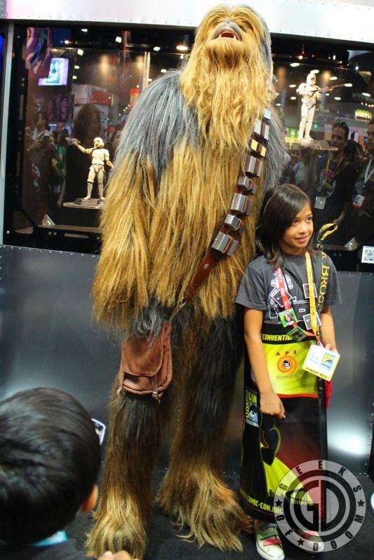 Impressive Chewbacca Wookie costume